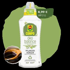 öko balance Pflanzendünger Produkt
